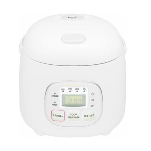 TOSHIBA หม้อหุงข้าวดิจิตอล 0.54 ลิตร RC-5MM(WT)A สีขาว