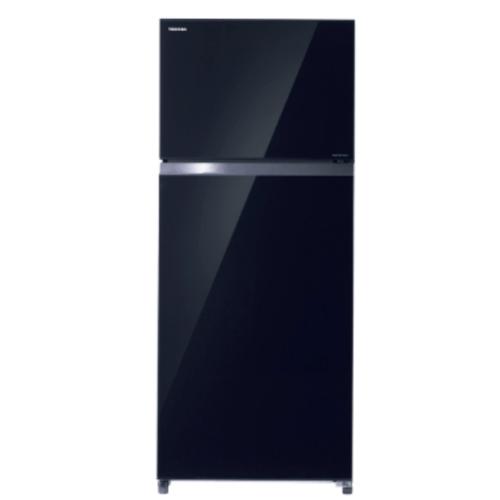 TOSHIBA ตู้เย็น 2 ประตู 19.9 คิว   GR-AG58KA(XK) สีดำ