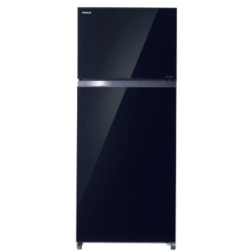 TOSHIBA ตู้เย็น 2 ประตู 21.8 คิว   GR-AG66KA(XK) สีดำ