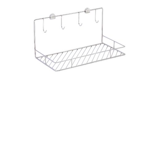 WS ตะแกรงวางแก้วน้ำ แบบติดผนัง 60 ซม.  WR-4101/60