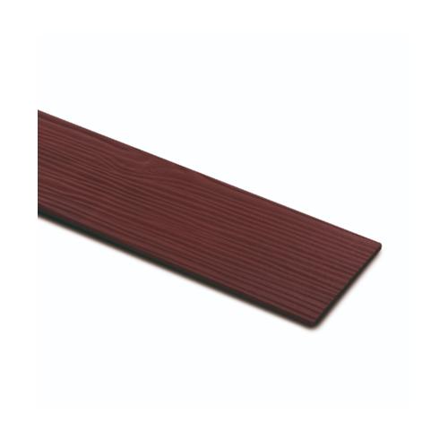 ตราเพชร ไม้ฝา ลายไม้ รุ่น หน้า 6 นิ้ว ยาว 3 ม. ขนาด 0.8x15x300 ซม. สีแดงทับทิม