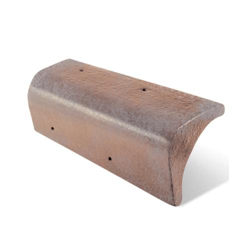 ตราเพชร ครอบปิดชาย   กระเบื้อง CT Gran Onda สีดินเผาคลาสสิค
