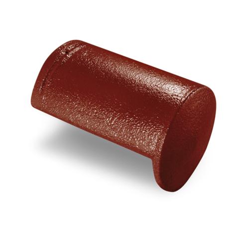 ตราเพชร ครอบปิดจั่ว CTเพชร รุ่น แกรนออนด้า ขนาด 20.5x33 ซม. สีแดงชบา
