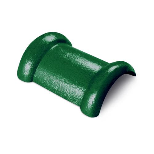ตราเพชร ครอบสันโค้ง 2 ทาง CTเพชร รุ่น แกรนออนด้า ขนาด 21x33 ซม. สีเขียวผ่องใส