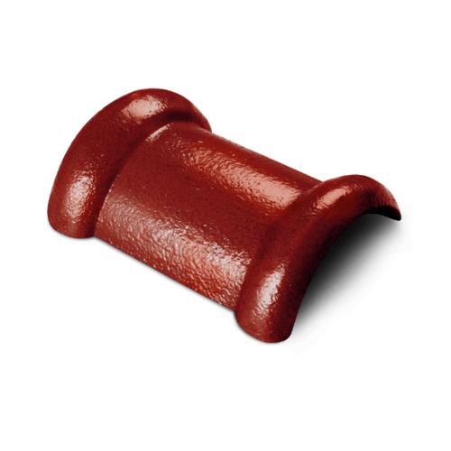 ตราเพชร ครอบสันโค้ง 2 ทาง CTเพชร รุ่น แกรนออนด้า ขนาด 21x33 ซม. สีทองแดงศุภมงคล