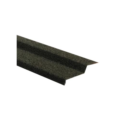 ตราเพชร แผ่นปิดชนผนัง สี Charcoal decra สีดำ