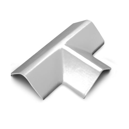 ตราเพชร ครอบ 3 ทางตัว T กระเบื้องเจียระไน ขนาด 21x45 ซม. สีขาวไข่มุก
