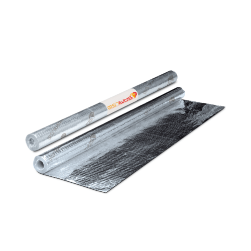 ตราเพชร แผ่นสะท้อนความร้อน รุ่น มาตรฐาน 2 หน้า ขนาด 125x6000 ซม.