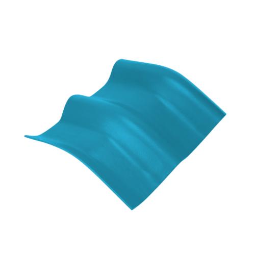 ตราเพชร ครอบมุมองศา 20 องศา กระเบื้องลอนคู่ ขนาด 48x39.5 ซม. สีฟ้าร่มรื่น