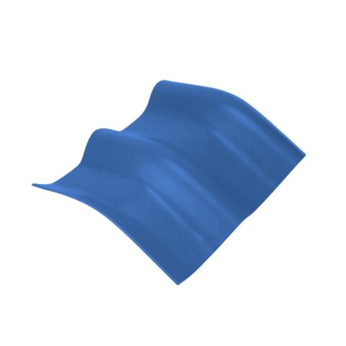 ตราเพชร ครอบมุมองศา 20 องศา กระเบื้องลอนคู่ ขนาด 48x39.5 ซม. สีฟ้ารุ่งโรจน์