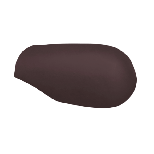 ตราเพชร ครอบสันโค้งหางมนแบบเว้า กระเบื้องลอนคู่ ขนาด 23.5x40.5 ซม. สีน้ำตาลสุขสันต์