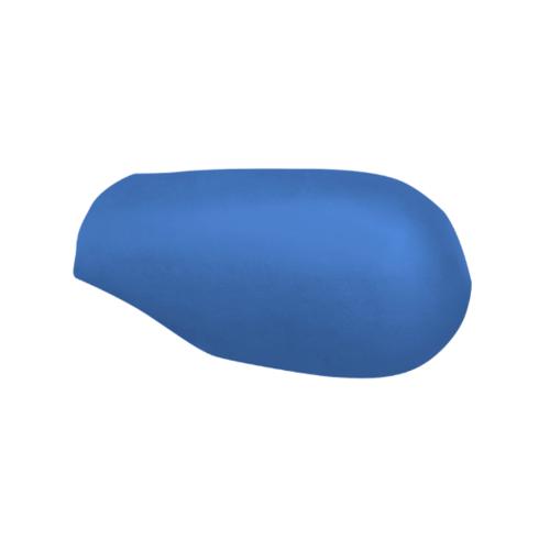 ตราเพชร ครอบสันโค้งหางมนแบบเว้า กระเบื้องลอนคู่ ขนาด 23.5x40.5 ซม. สีฟ้ารุ่งโรจน์