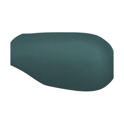 ตราเพชร ครอบสันโค้งหางมนแบบเว้า กระเบื้องลอนคู่ ขนาด 23.5x40.5 ซม. สีเขียวสดชื่น