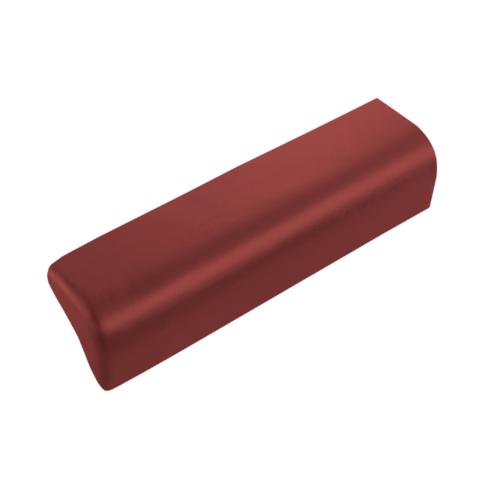 ตราเพชร ครอบปิดชาย กระเบื้องลอนคู่ ขนาด 19.5x58 ซม. สีแดงมั่งมี