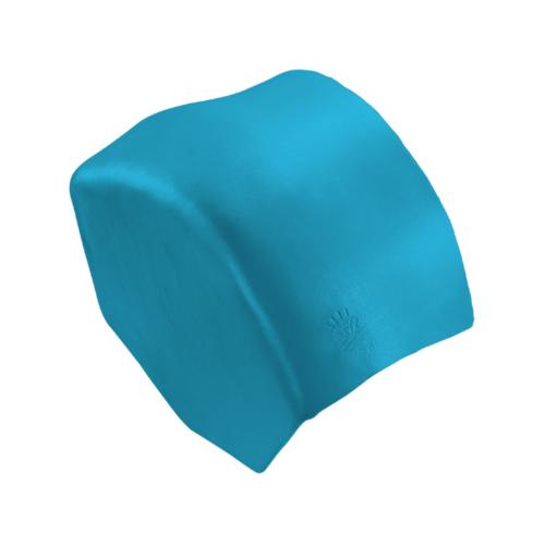 ตราเพชร ครอบปิดจั่วสันโค้ง กระเบื้องลอนคู่ ขนาด 27.5x15.5 ซม. สีฟ้าร่มรื่น