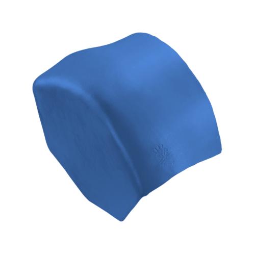 ตราเพชร ครอบปิดจั่วสันโค้ง กระเบื้องลอนคู่ ขนาด 27.5x15.5 ซม. สีฟ้ารุ่งโรจน์