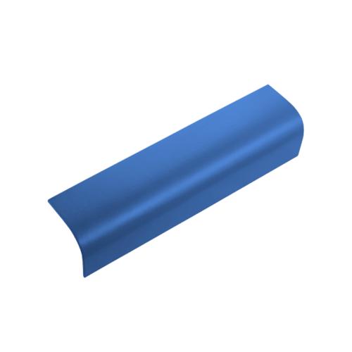 ตราเพชร ครอบข้าง กระเบื้องลอนคู่ ขนาด 19.5x60 ซม. สีฟ้ารุ่งโรจน์