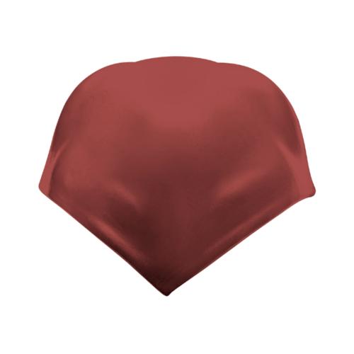 ตราเพชร ครอบสันโค้ง 4 ทาง ปั้นหยา กระเบื้องลอนคู่ ขนาด 37.5x37.5 ซม. สีแดงมั่งมี