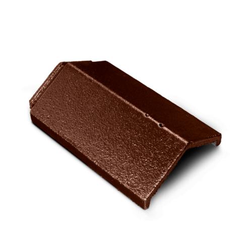 ตราเพชร ครอบสันตะเข้ กระเบื้องอดามัส ขนาด 24.5x35.7 ซม. สีน้ำตาลอิตัลไทย