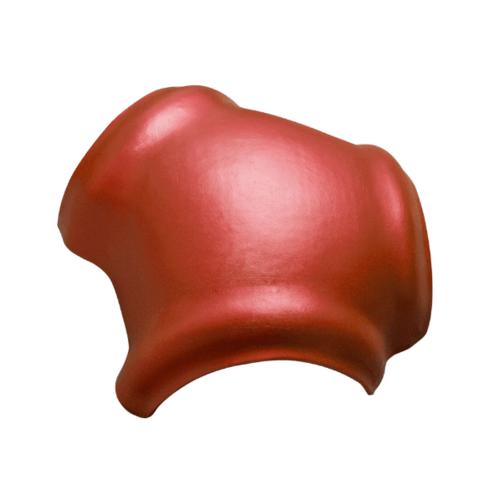 ตราเพชร ครอบ 3 ทาง รูปตัว Y กระเบื้องจตุลอน ขนาด 40.5x45 ซม สีแดงประกายเพชร