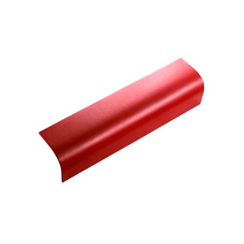 ตราเพชร ครอบข้าง กระเบื้องลอนคู่ ขนาด 19.5x60 ซม. สีแดงประกายเพชร