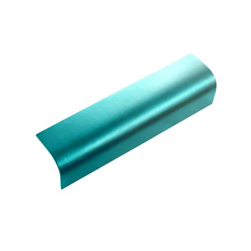 ตราเพชร ครอบข้าง กระเบื้องลอนคู่ ขนาด 19.5x60 ซม. สีเขียวประกายเพชร