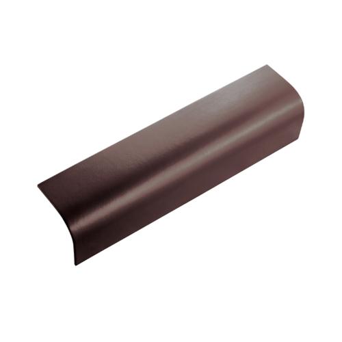 ตราเพชร ครอบข้าง กระเบื้องลอนคู่ ขนาด 19.5x60 ซม. สีน้ำตาลประกายเพชร