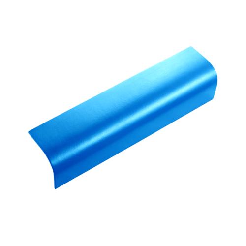 ตราเพชร ครอบข้าง กระเบื้องลอนคู่ ขนาด 19.5x60 ซม. สีฟ้าประกายเพชร