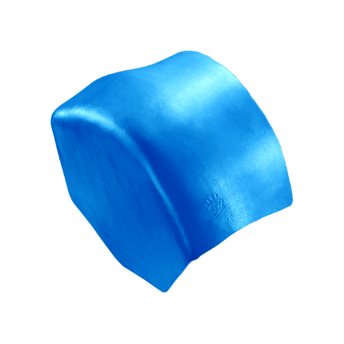 ตราเพชร ครอบปิดจั่วสันโค้ง กระเบื้องลอนคู่ ขนาด 27.5x15.5 ซม. สีฟ้าประกายเพชร