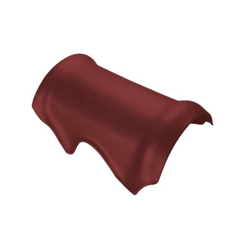 ตราเพชร ครอบสันตะเข้ กระเบื้องจตุลอน ขนาด 29x40 ซม สีแดงมั่งมี