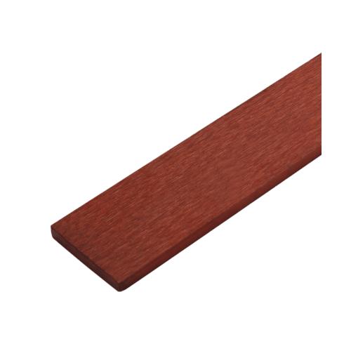 ตราเพชร ไม้รั้ว ลายเสี้ยน รุ่น หัวตรง หน้า 4 นิ้ว ยาว 1.5 ม. ขนาด 1.5x10x150 ซม. แดงประกายทอง