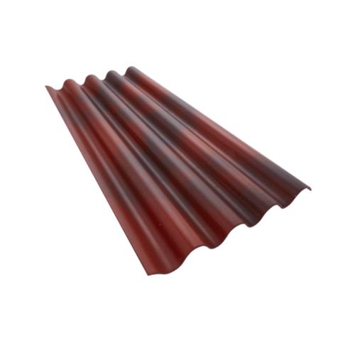 ตราเพชร กระเบื้องจตุลอน รุ่น 5 มม. 1.2 ม. ขนาด 0.5x50x120 ซม. สีแดงเยอบีร่า