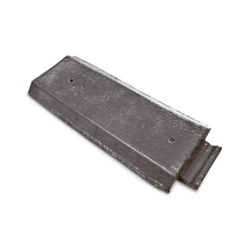 ตราเพชร ครอบข้างชนผนัง กระเบื้องอดามัส ขนาด 14x35.5 ซม. สีเทาไอหมอก