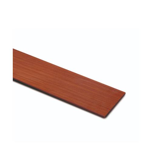 ตราเพชร ไม้ฝา ลายไม้ รุ่น หน้า 6 นิ้ว ยาว 3 ม. ขนาด 0.8x15x300 ซม. สีน้ำตาลเบอร์รี่