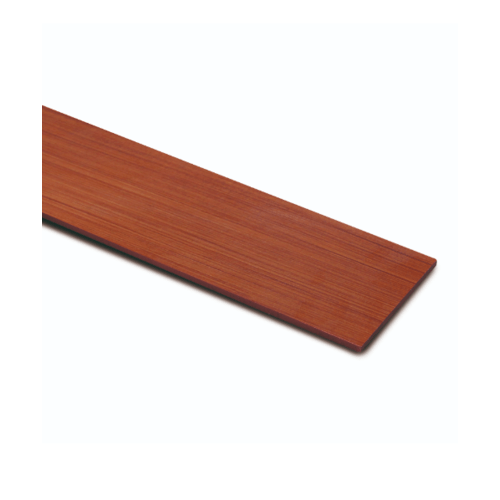 ตราเพชร ไม้ฝา ลายไม้ รุ่น หน้า 6 นิ้ว ยาว 4 ม. ขนาด 0.8x15x400 ซม. สีน้ำตาลเบอร์รี่