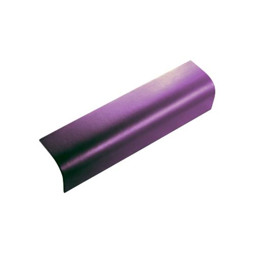 ตราเพชร ครอบข้าง กระเบื้องลอนคู่ ขนาด 19.5x60 ซม. สีม่วงประกายเพชร