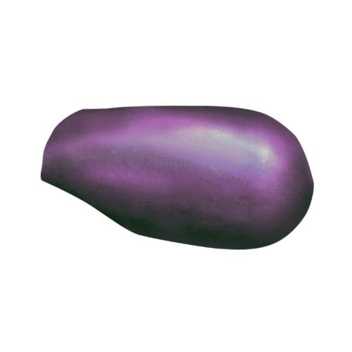 ตราเพชร ครอบสันโค้งหางมนแบบเว้า กระเบื้องลอนคู่ ขนาด 23.5x40.5 ซม. สีม่วงประกายเพชร
