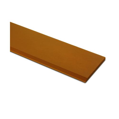 ตราเพชร ไม้เชิงชาย แบบเรียบลบมุม รุ่น หน้า 6 นิ้ว ยาว 4 ม. ขนาด 1.6x15x400 ซม. สีน้ำตาลคาราเมล (สินค้ายกเลิกผลิต)