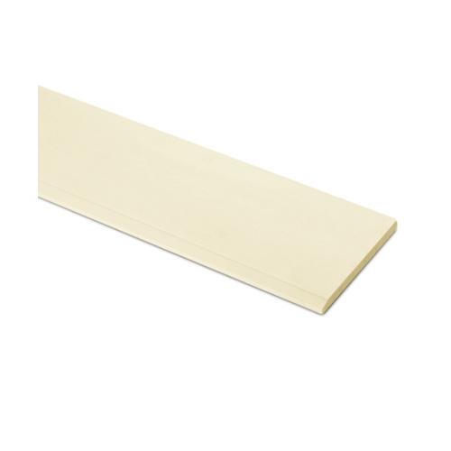 ตราเพชร ไม้เชิงชาย แบบเรียบลบมุม รุ่น หน้า 6 นิ้ว ยาว 3 ม. ขนาด 1.6x15x300 ซม. สีรองพื้นออร์คิด