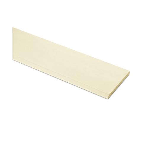 ตราเพชร ไม้เชิงชาย แบบเรียบลบมุม รุ่น หน้า 8 นิ้ว ยาว 3 ม. ขนาด 1.6x20x300 ซม. สีรองพื้นออร์คิด