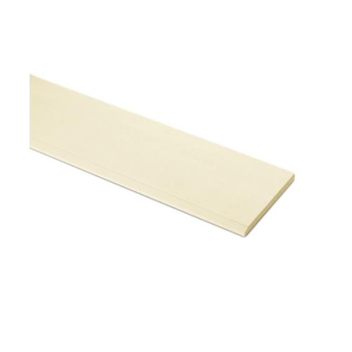 ตราเพชร ไม้เชิงชาย แบบเรียบลบมุม รุ่น หน้า 8 นิ้ว ยาว 4 ม. ขนาด 1.6x20x400 ซม. สีรองพื้นออร์คิด
