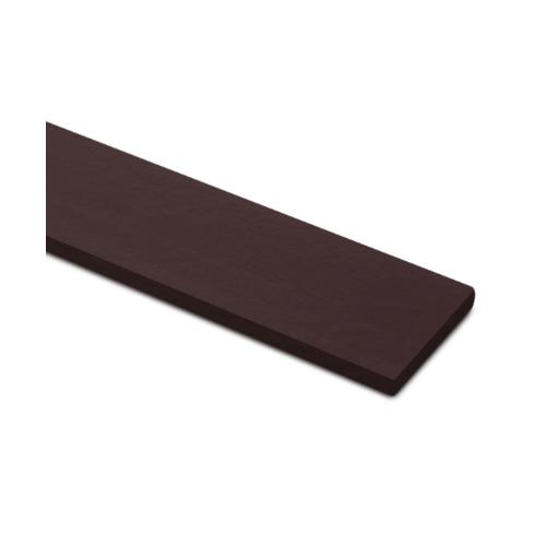 ตราเพชร ไม้รั้ว ลายเสี้ยน รุ่นหัวตรง หน้า 4 นิ้ว ยาว 1.5 ม. ขนาด 1.5x10x150 ซม. สีน้ำตาลอินทนิล