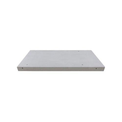 ตราเพชร เคาน์เตอร์มวลเบา DDซิงค์ ขนาด  7.5x56x120ซม. Double Sink สีขาว