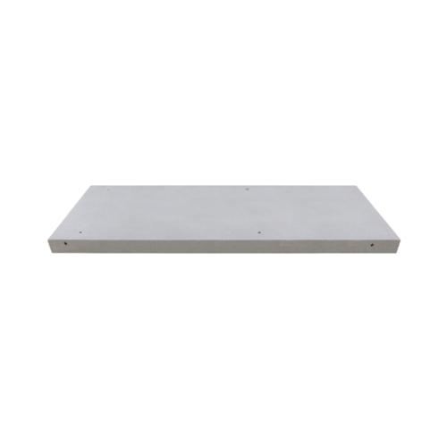 ตราเพชร เคาน์เตอร์มวลเบาตราเพชร DDซิงค์  ขนาด 7.5x56x150ซม. สีขาว