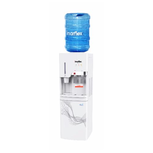 IMARFLEX ตู้กดน้ำร้อนน้ำเย็น แบบถังคว่ำ IF-101 ขาว