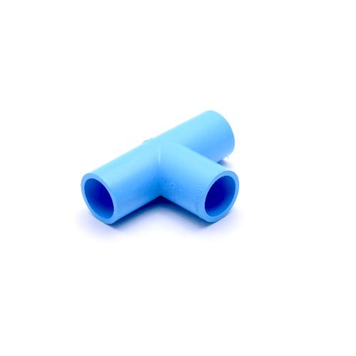 AAA  สามทาง  หนา 1นิ้ว (25) ชั้น 13.5  สีฟ้า