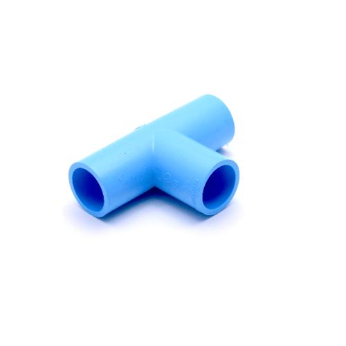 AAA สามทาง  หนา 1 1/2นิ้ว(40) ชั้น 13.5  สีฟ้า