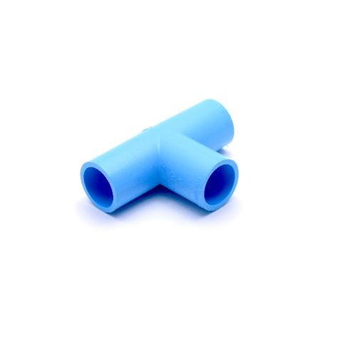 AAA สามทาง  หนา 4นิ้ว (100) ชั้น 13.5  สีฟ้า