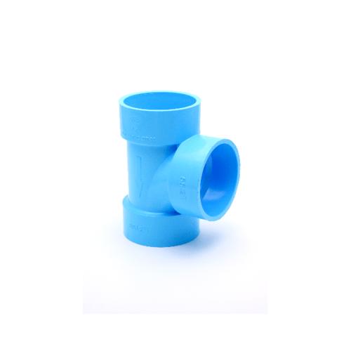 AAA สามทาง  แบบบาง 8นิ้ว (200) ชั้น 8.5  สีฟ้า