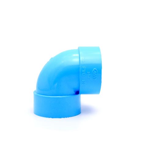 AAA ข้องอบาง905นิ้ว(125)  ชั้น 8.5  สีฟ้า
